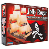 Jolly Roger Pirate Ship Model Kit